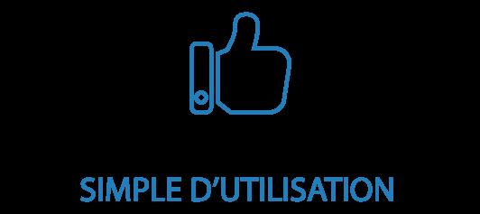icone pouce simple d'utilisation